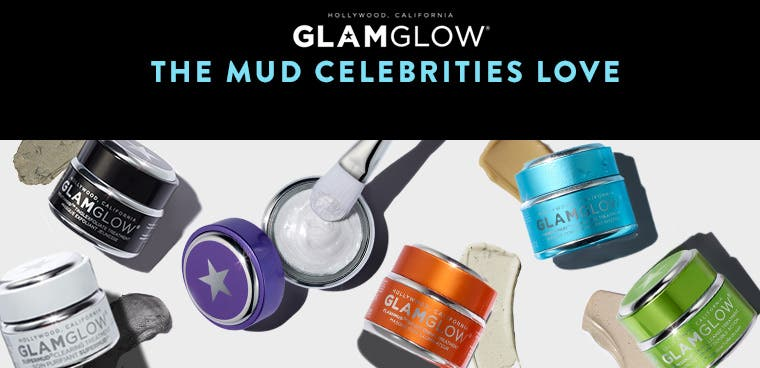 GLAMGLOW: the mud celebrities love.