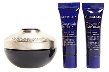 Receive a free 3-piece bonus gift with your $300 Guerlain Orchidée Impériale purchase