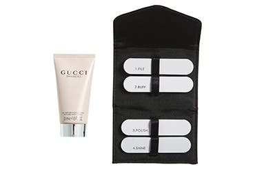 Gucci women's fragrance gift with purchase.