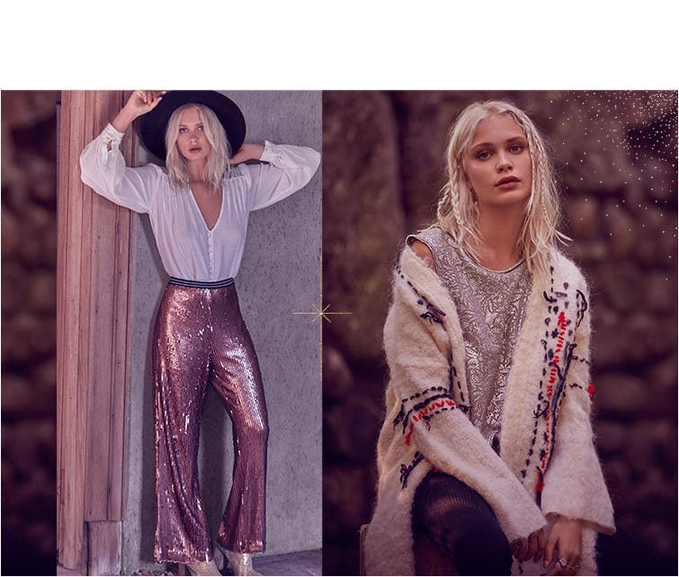 Free People holiday 2016.