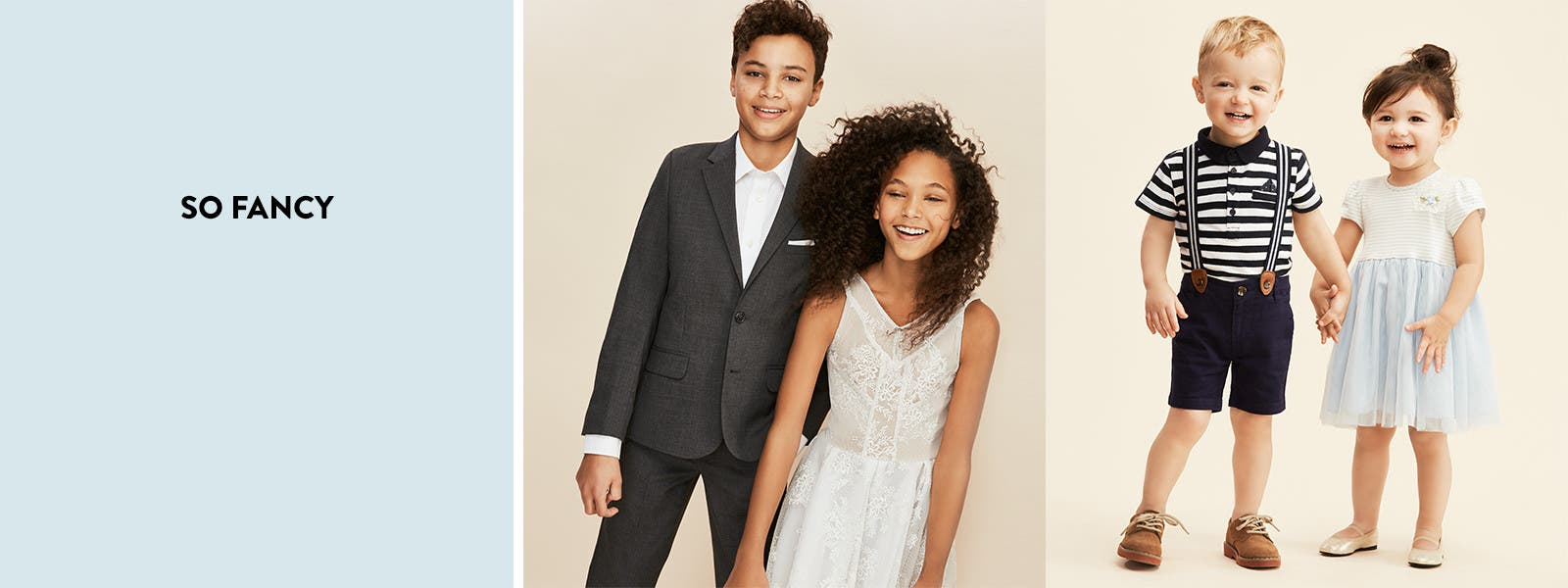 So fancy: supercute party styles for kids.