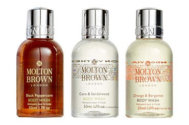 MOLTON BROWN London gift with purchase.