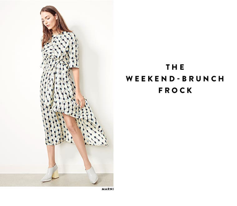 The weekend brunch frock.