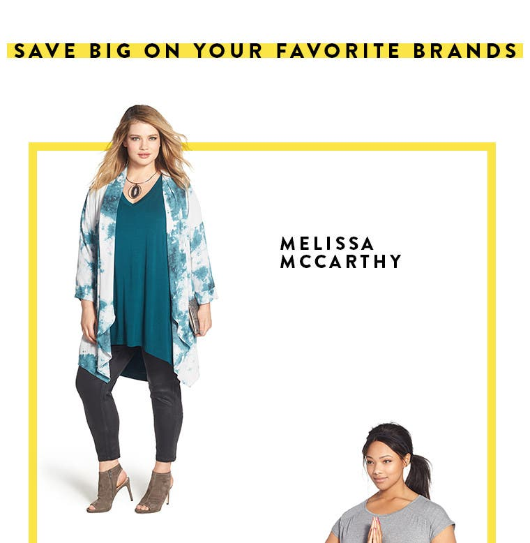 Anniversary Sale plus-size women's clothing by Melissa McCarthy.