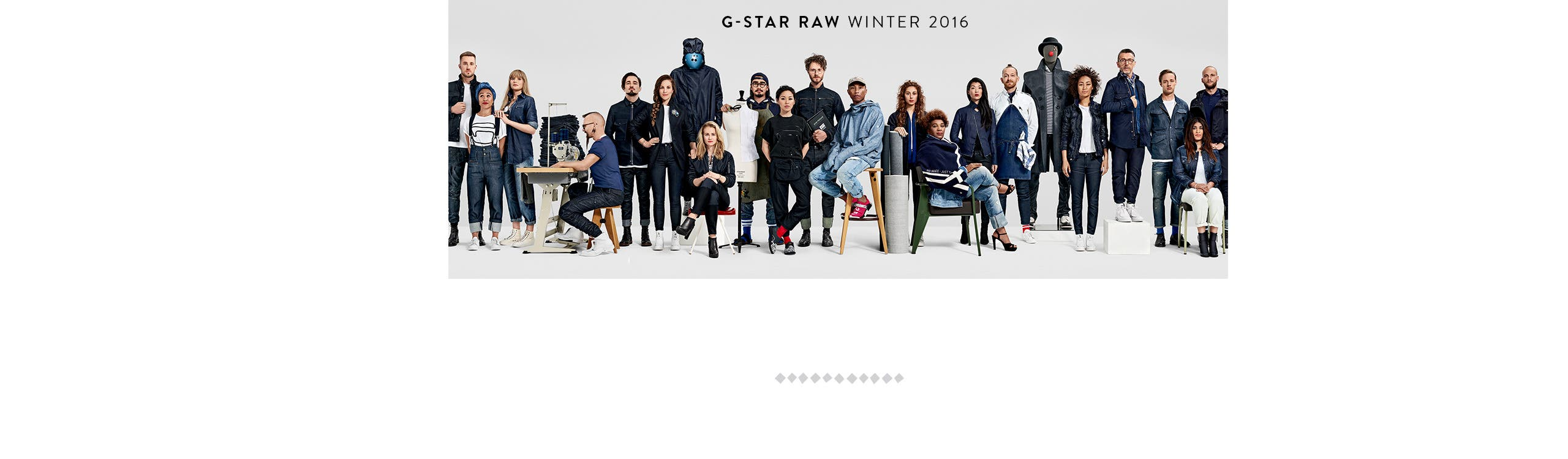 G-Star Raw, winter 2016.