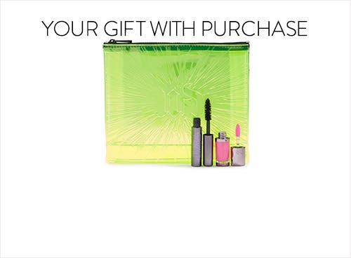 Urban Decay gift with purchase.