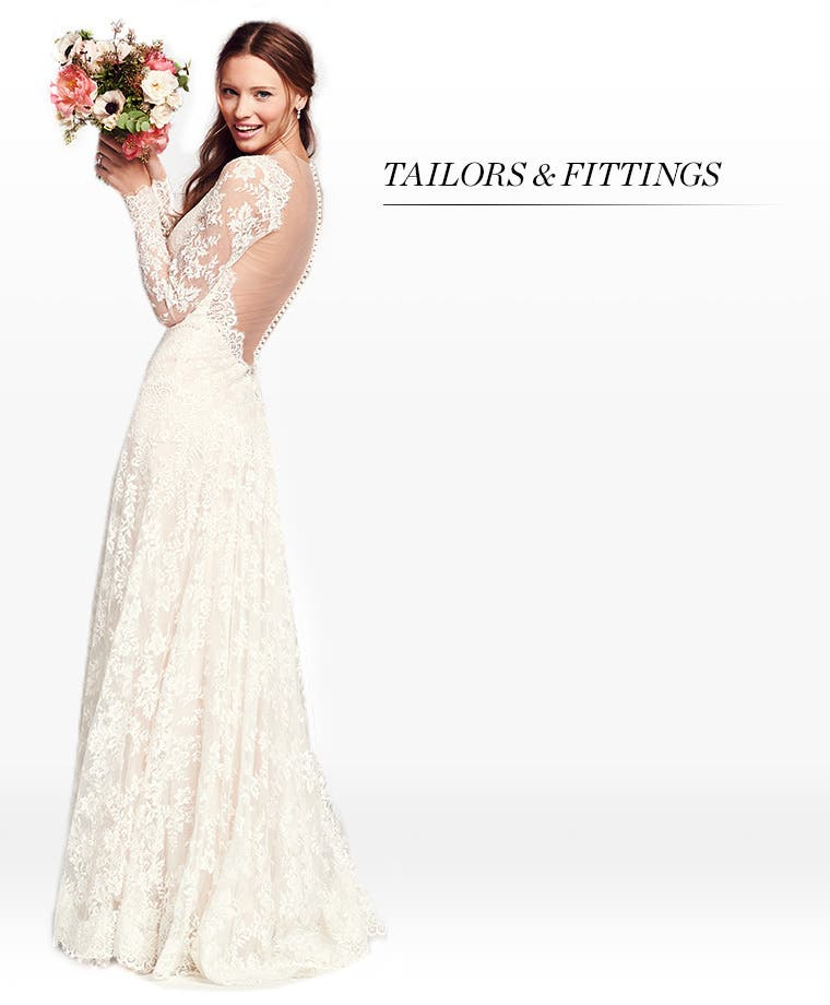 Wedding Outfit Dress Alterations Fitting Nordstrom