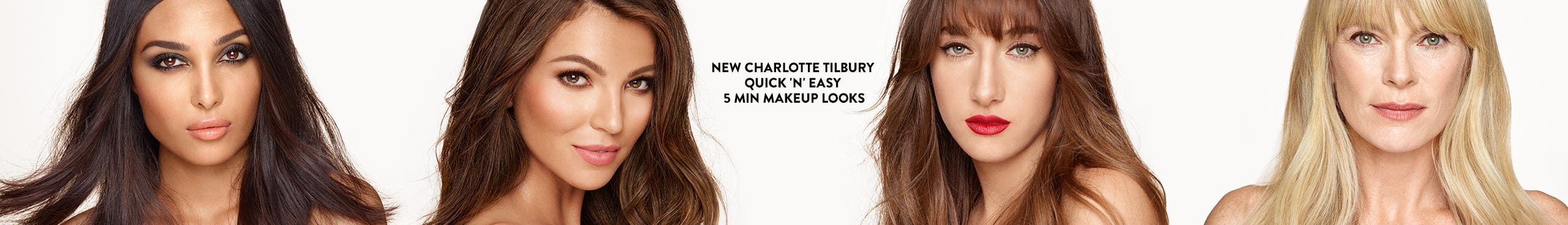 Charlotte Tilbury: Quick 'N' Easy 5 Min Makeup Looks.