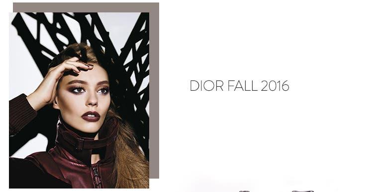 Dior Fall 2016 makeup.