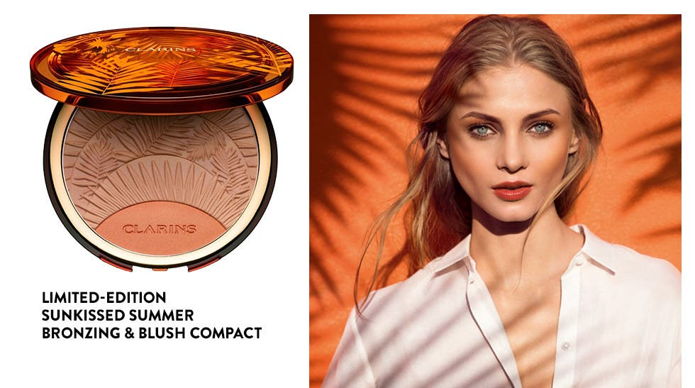 Limited-edition Sunkissed Summer Bronzing & Blush Compact.