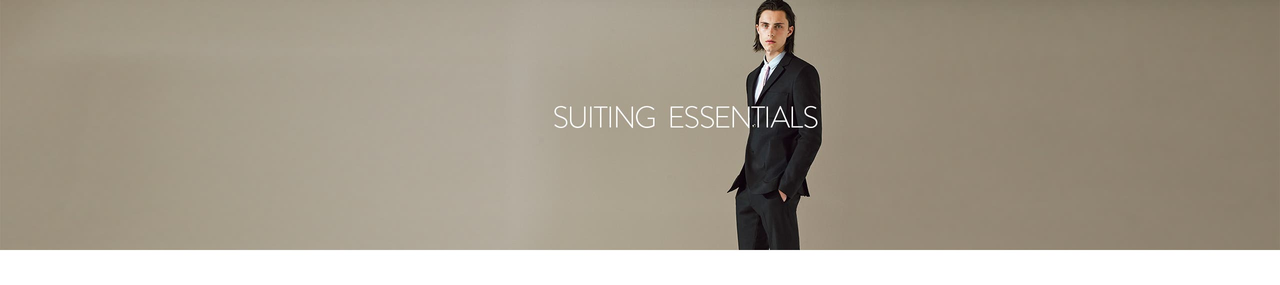 Topman suiting essentials.