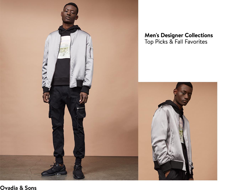 OVADIA & SONS designer clothing for men.