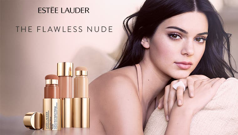 Estée Lauder: the flawless nude.