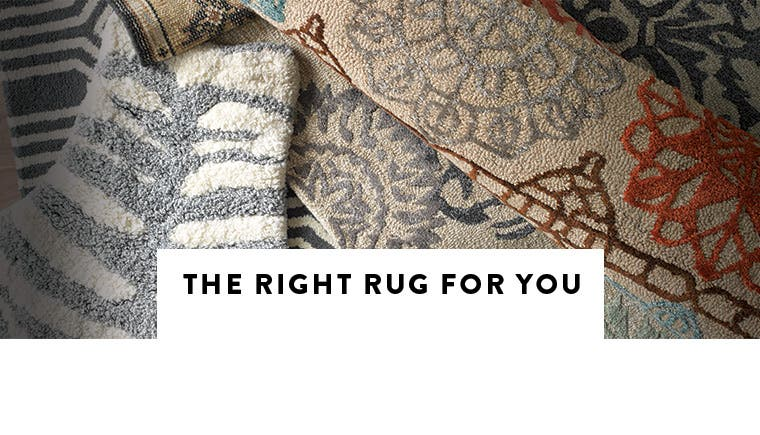 Our rug guide: how to pick the right rug for you.