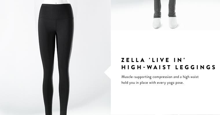 Women's workout leggings from Zella and more.