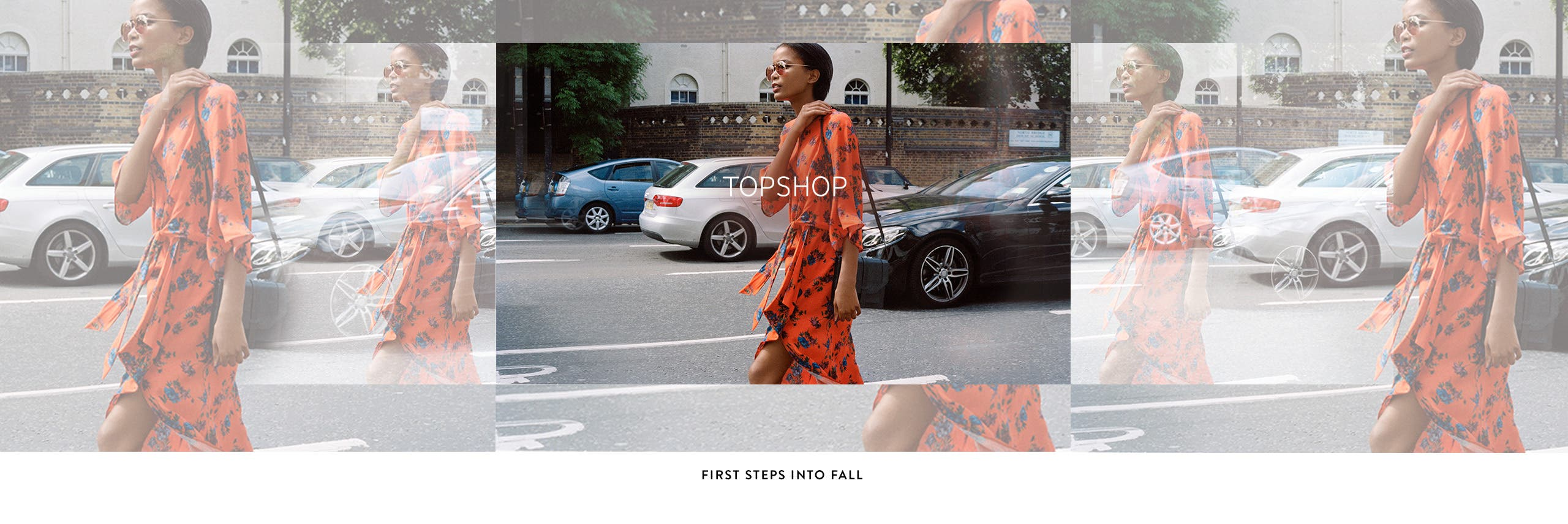 Topshop: first steps into fall clothing and accessories for women.