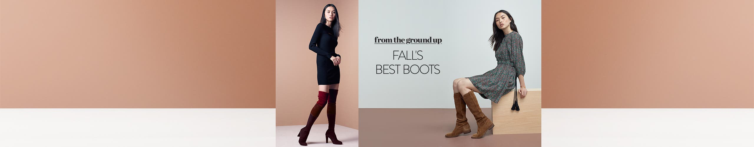 From the ground up: fall's best boots for women.