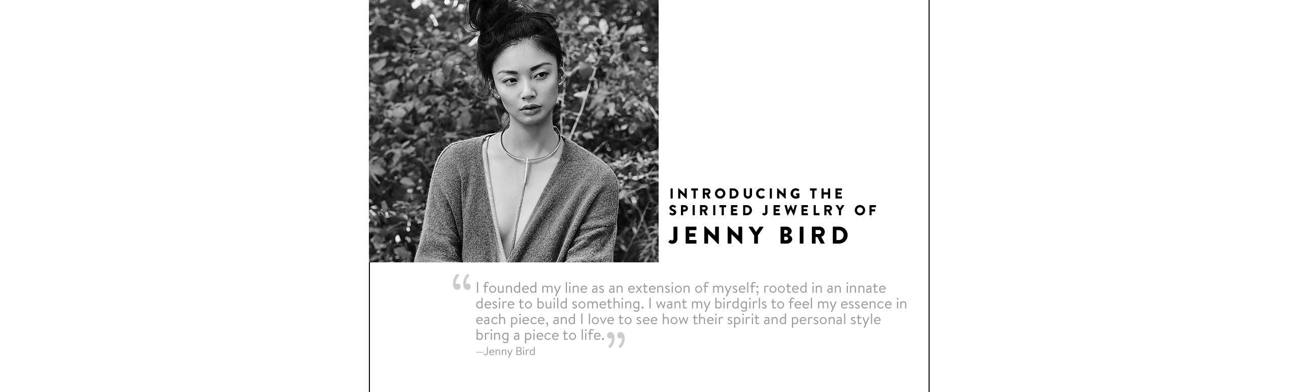 Jenny Bird jewelry.