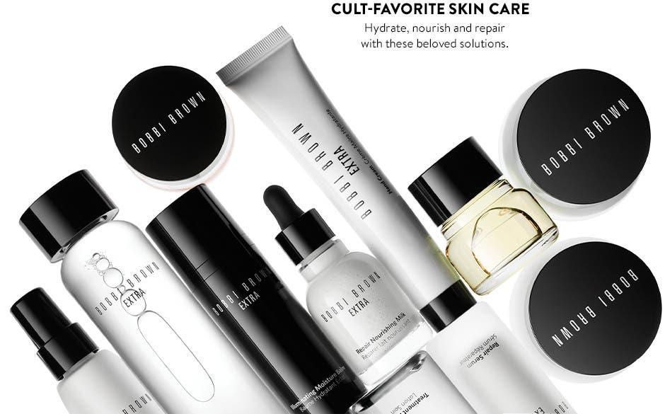 Cult-favorite skin care.