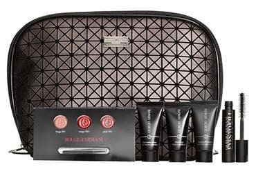 Receive a free 6-piece bonus gift with your $150 Giorgio Armani purchase