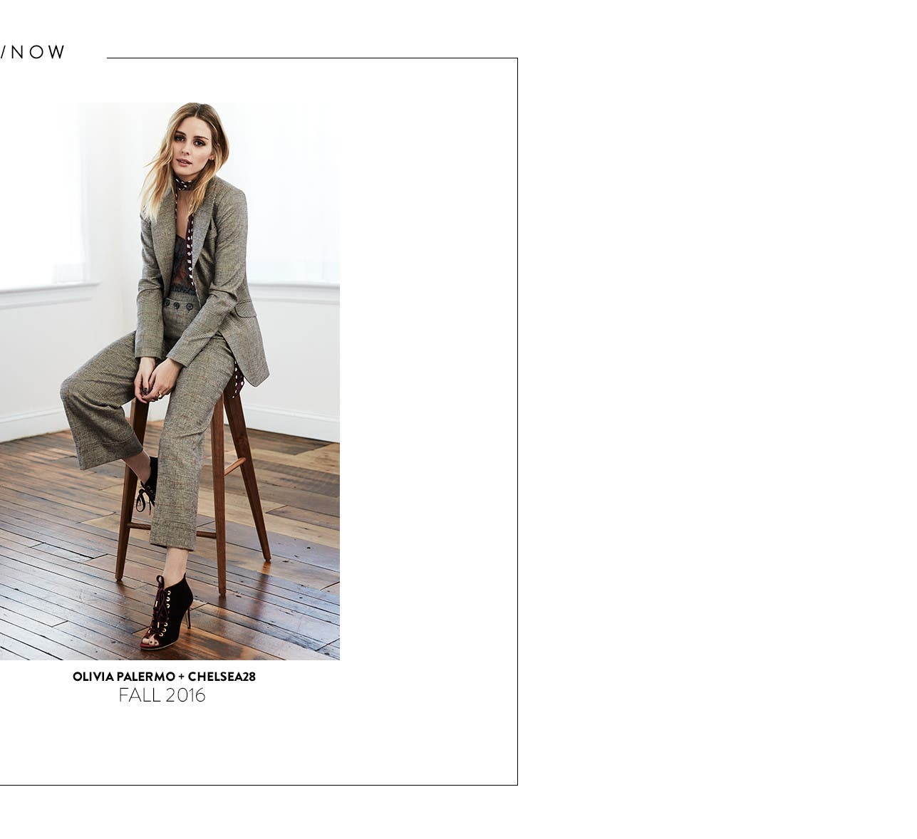 Olivia Palermo + Chelsea28: a Nordstrom exclusive collection.