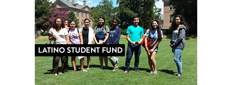 Giving spotlight: the Latino Student Fund.