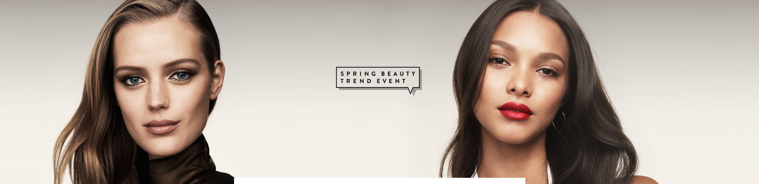 Spring beauty trend event.