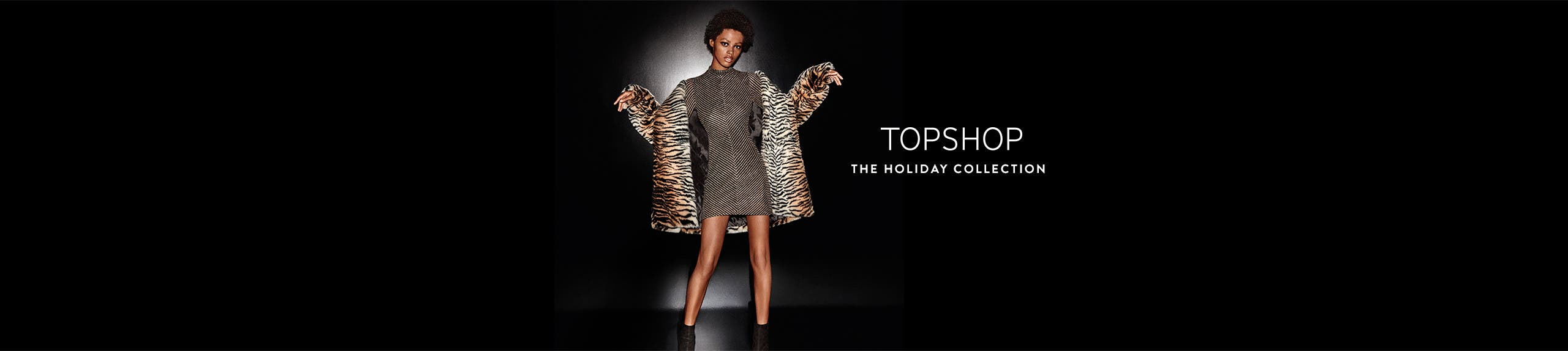 Topshop: the holiday collection.