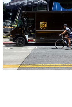 Improving deliveries and reducing emissions with UW Urban Freight Lab.
