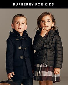 Burberry for kids.