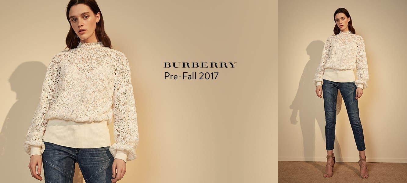 Burberry pre-fall 2017.