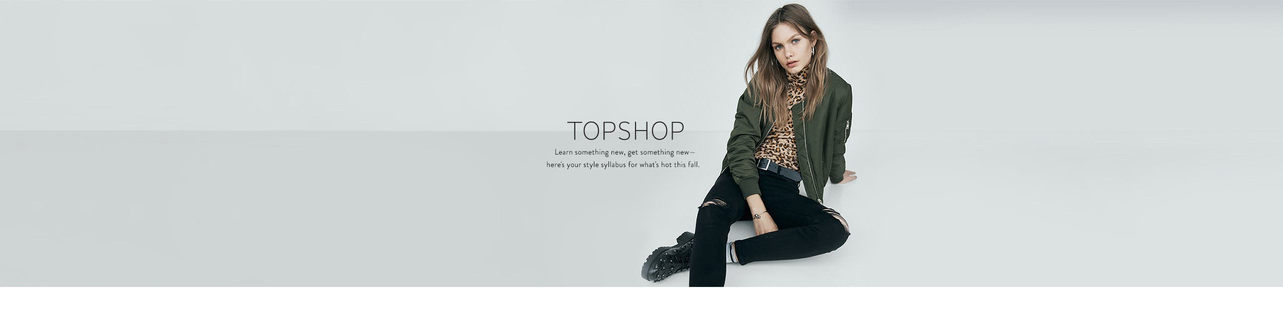 Topshop clothing and more.