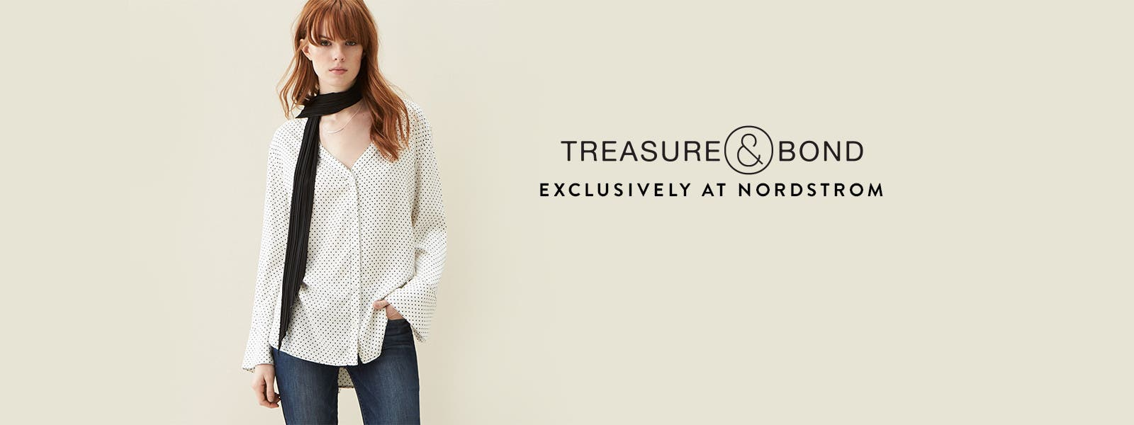 Treasure&Bond, exclusively at Nordstrom.