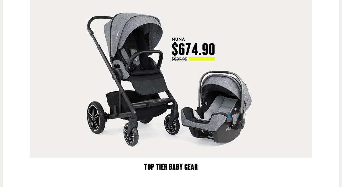 Top tier baby gear at Anniversary Sale.