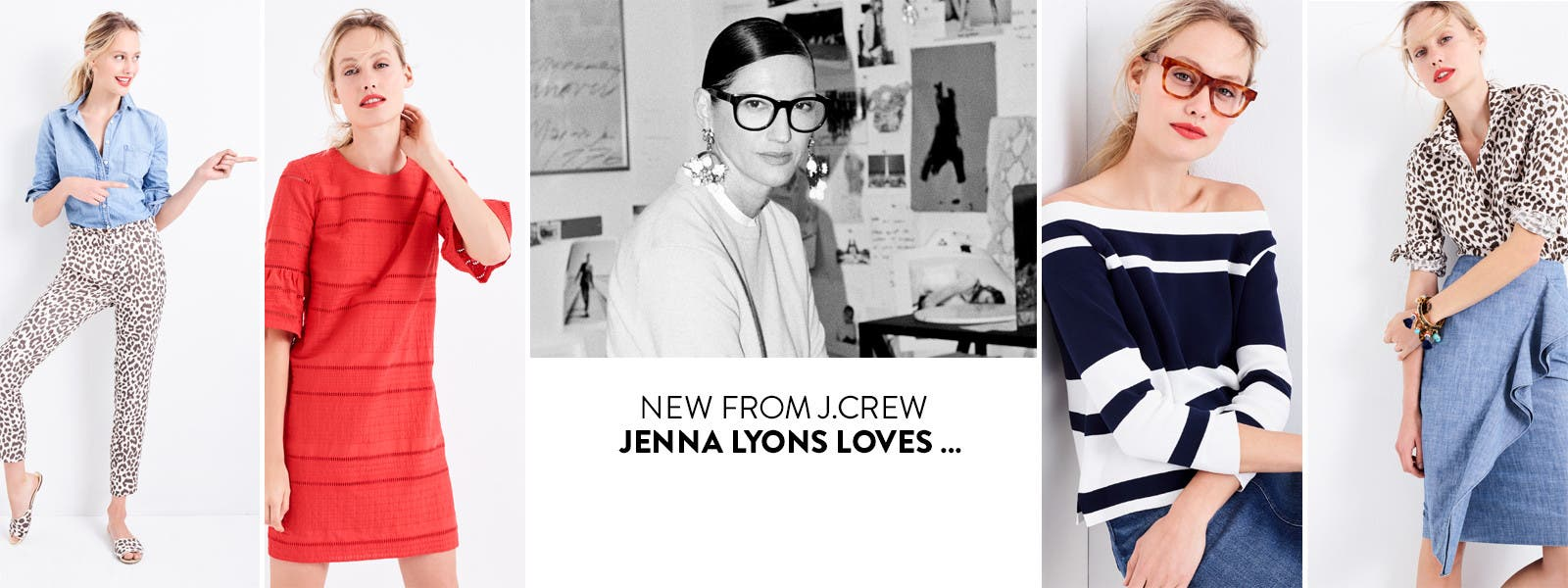 J.Crew new arrivals: what Jenna Lyons loves.