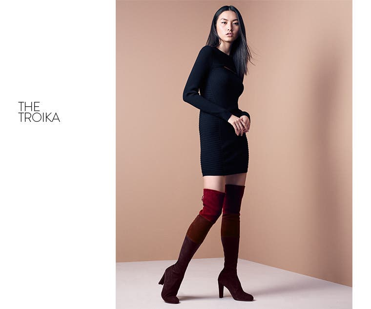 The Troika over-the-knee boot.