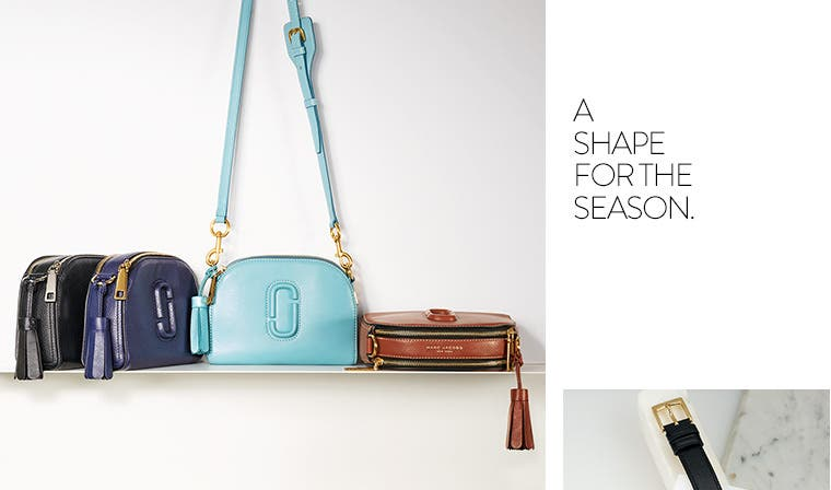 Marc Jacobs handbags.