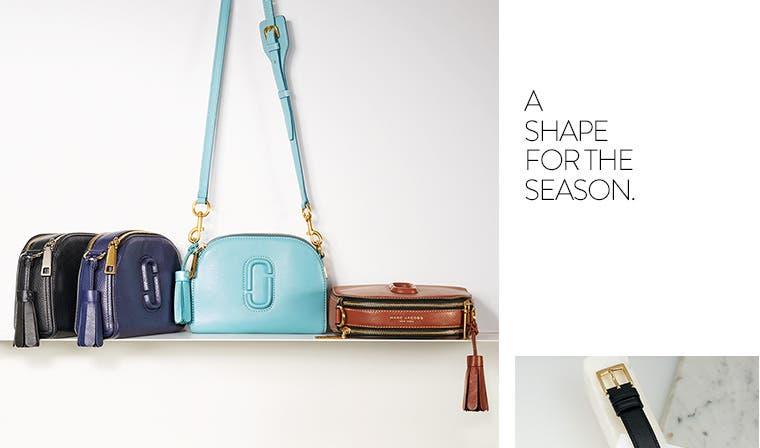 Marc Jacobs handbags.