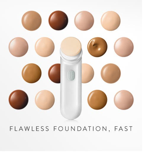 Flawless foundation, fast.