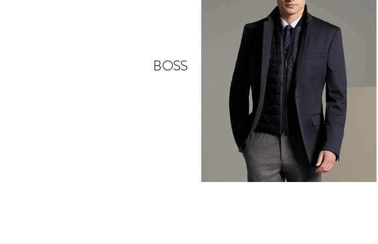 Men's sport coats from BOSS and more.
