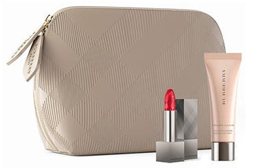 Receive a free 3-piece bonus gift with your $125 Burberry purchase