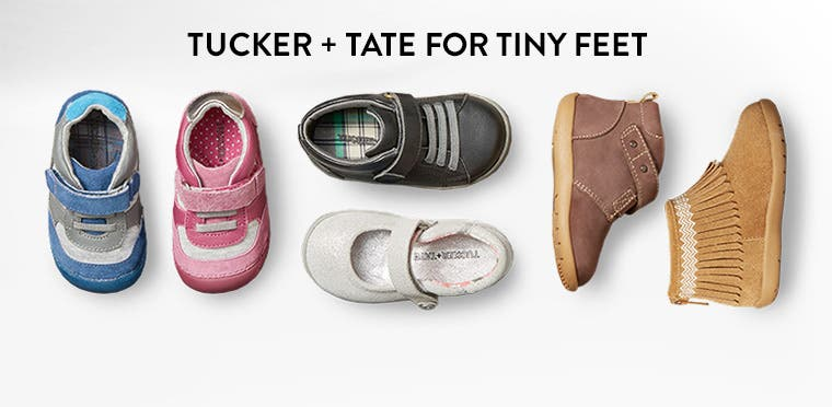 Tucker + Tate for tiny feet.