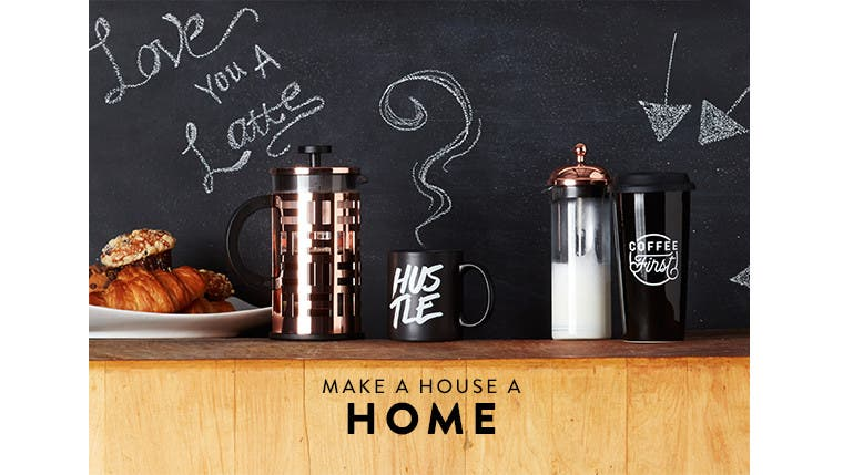Make a house a home.