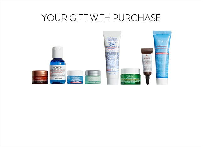 Kiehl's gift with purchase.