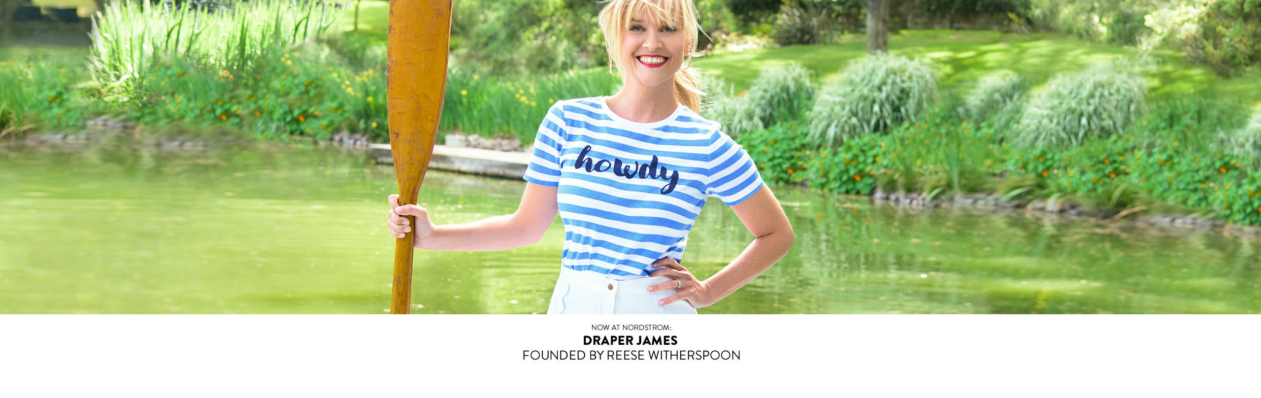 Now at Nordstrom: Draper James founded by Reese Witherspoon.