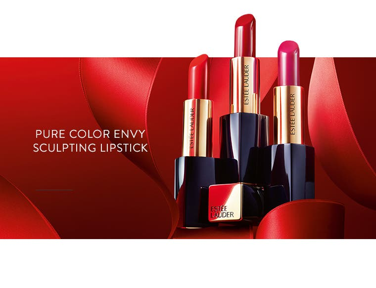 Estée Lauder Pure Color Envy Sculpting Lipstick.