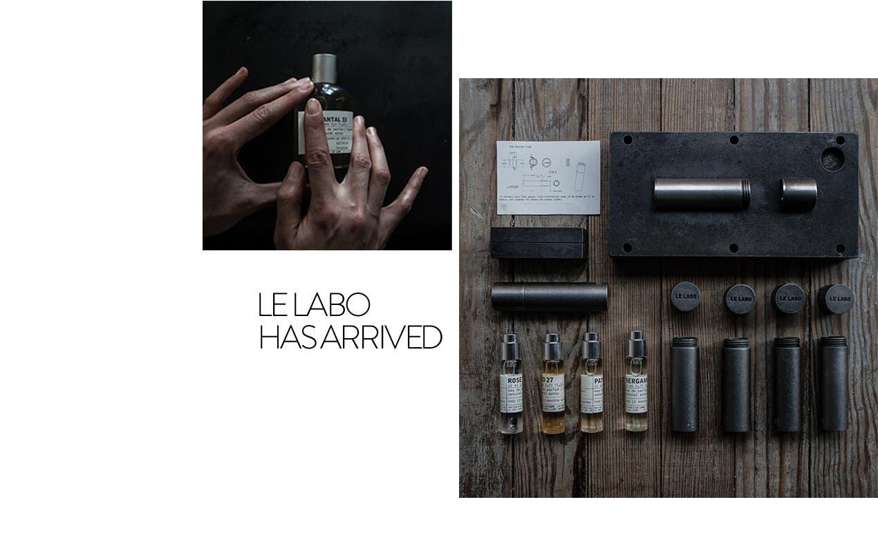 Le Labo cologne for men.