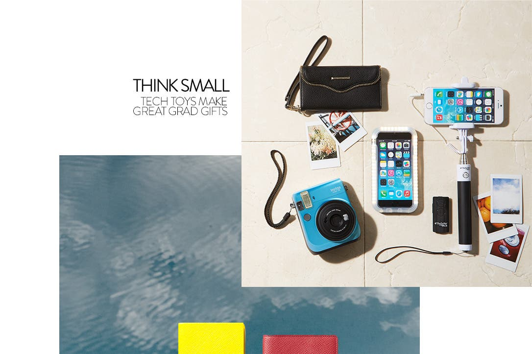 Think small. Tech toys make great gifts.