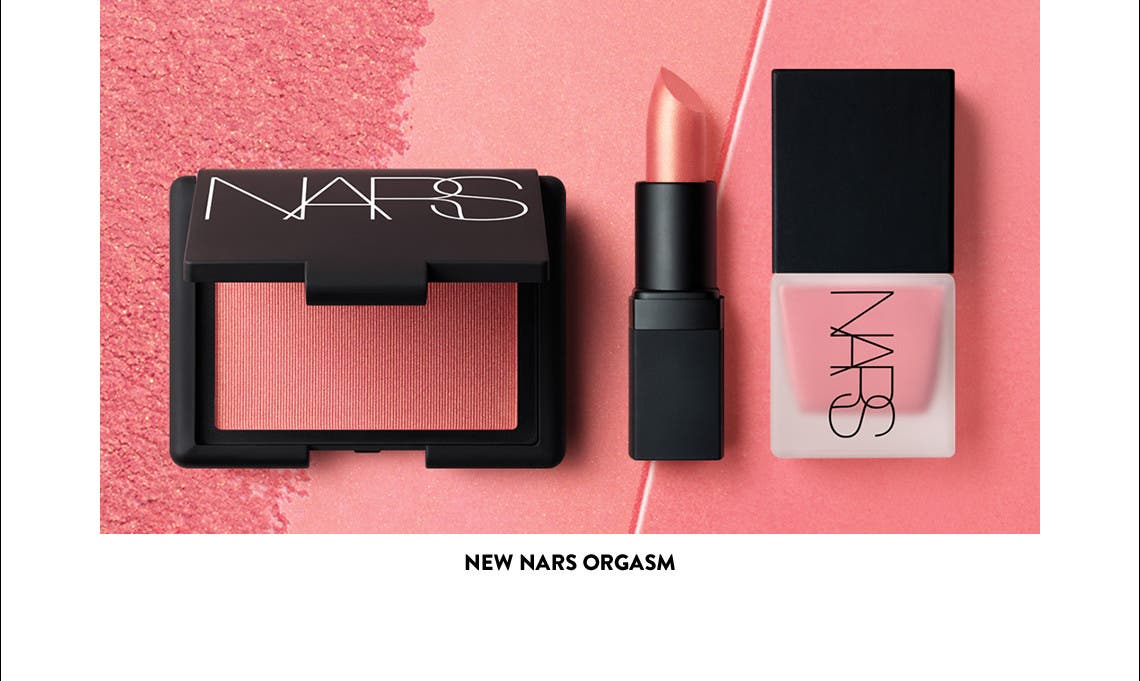 New NARS Orgasm.