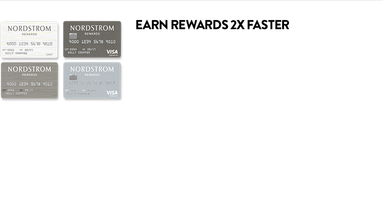 Earn rewards 2x faster.